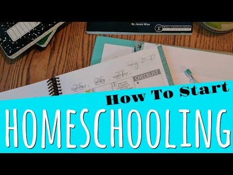 How to Start Homeschooling || 8 Steps