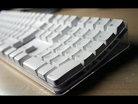 HOW TO: Clean your wireless apple keyboard using the dishwasher.