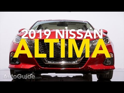 2019 Nissan Altima First Look: AWD for the First Time! | 2018 New York Auto Show