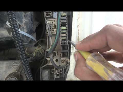 Car Headlight low beam and high beam electrical repair