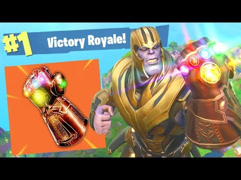 Fortnite: BEST way to Play as THANOS! (Mythical Infinity Gauntlet)