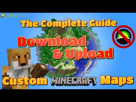 How to Download & Upload Custom Minecraft XBOX Maps WITHOUT HORIZON | Tutorial {2016}