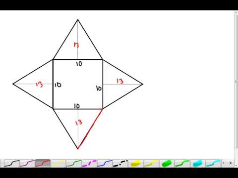Pyramid - Surface Area and Volume (7.3)