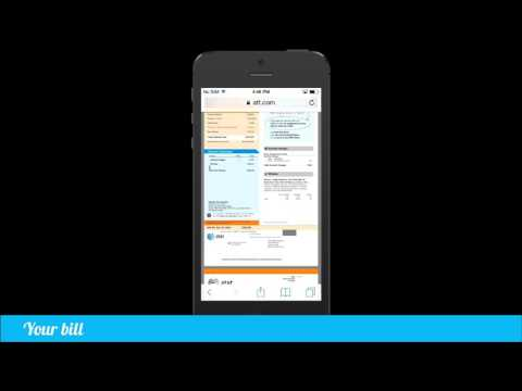 How to download your AT&T bill