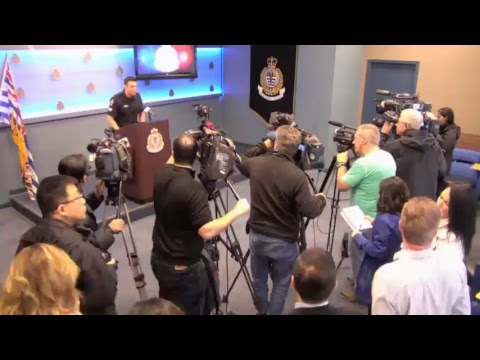 Vancouver Police Press Conference: The Vancouver Police Department and its partners have launched...