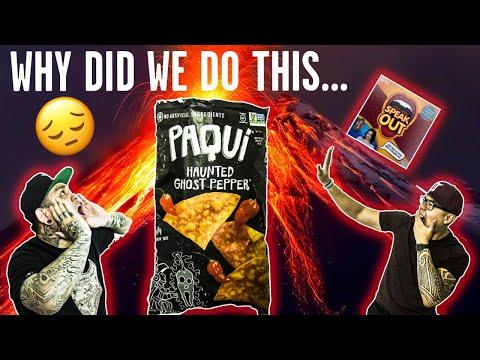 Paqui Chip Challenge + Speak Out Challenge?!