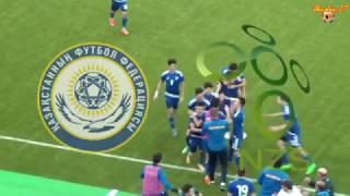 видеообзор матча  Казахстан (2-0) Словения (мемориал Гранаткина 2017)