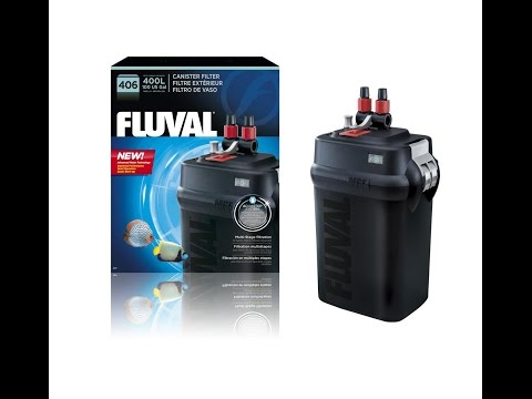 Fluval 406 Canister Filter Maintenance DEEP CLEAN Media Replacement 106 206 306