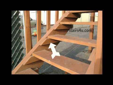 What Is A Wood Cleat? - Stair Building Parts