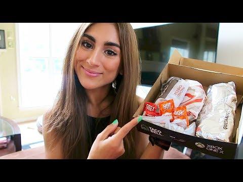 TACO BELL'S QUESARITO BOX! *990 Calories*