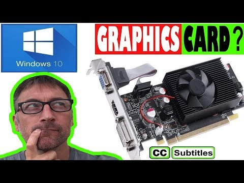 How to check Graphics Card on Windows 10