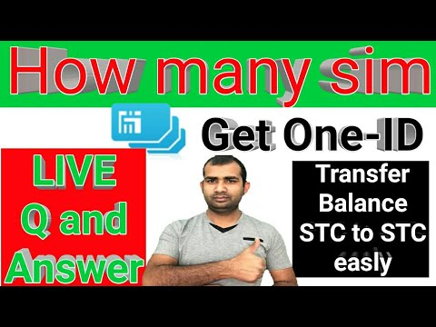 How many sim get one Iqama ID! Live Q & A! How to transfer STC to STC Balance in Saudi Arabia easly?
