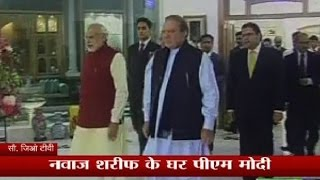 PM Modi reaches his Pakistan counterpart Nawaz Sharif