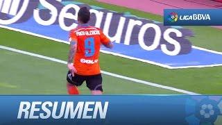 Resumen de UD Almería (2-3) Valencia CF