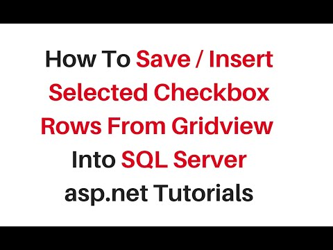 insert save selected value gridview rows into database c#4.6