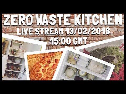 Zero Waste Kitchen Tour and Q&A - Tuesday 13th Feb 15:00 GMT