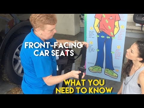Front-Facing Car Seats: What you Need to Know