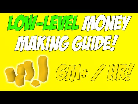 Runescape 2016 | Low-Level Money Making Guide #1