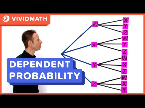 Probability Tree Dependent Events (2 Stage)