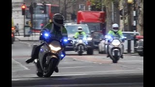 [See You Later!] Metropolitan Police SEG escort suddenly stops in London