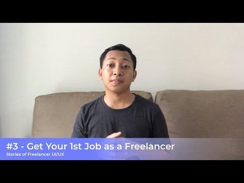 #3 - How to Get Job as a Freelancer UI/UX Designer