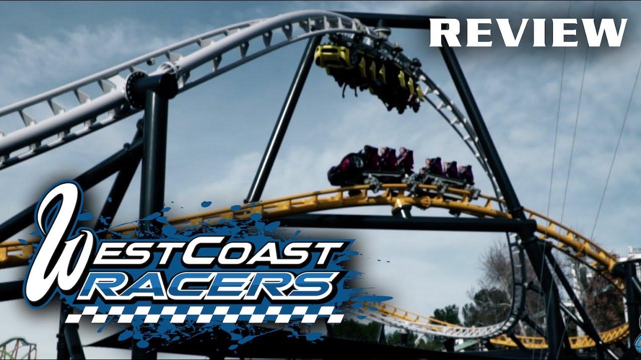 West Coast Racers Review Six Flags Magic Mountain Premier Rides Multi Launch Coaster
