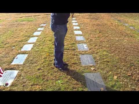Coins Left at Graves - Remembering Veterans - Mount Olivet Lodge