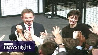 """Robert Harris on Tony Blair: """"He was a one-man government"""" - BBC Newsnight"""