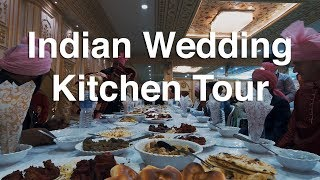 Tour of the Kitchen at an Indian Wedding (Extended Clip)
