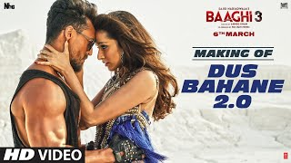 Making of Dus Bahane 2.0 | Baaghi 3 | Vishal & Shekhar FEAT. KK, Shaan & Tulsi Kumar |Tiger,Shraddha
