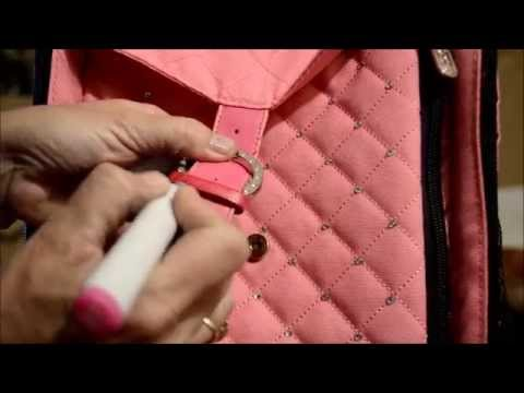 Fix Faded Leather, Faux Leather, Straps, Shoes, & Purses in Minutes