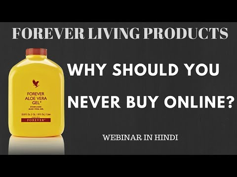 Why Should you Never buy Forever Living Products Online | Webinar in Hindi | Tarun Agarwal
