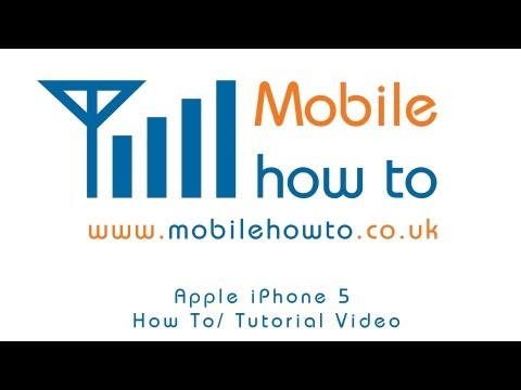 How To Set Text/SMS Alert/Ringtone - Apple iPhone 5