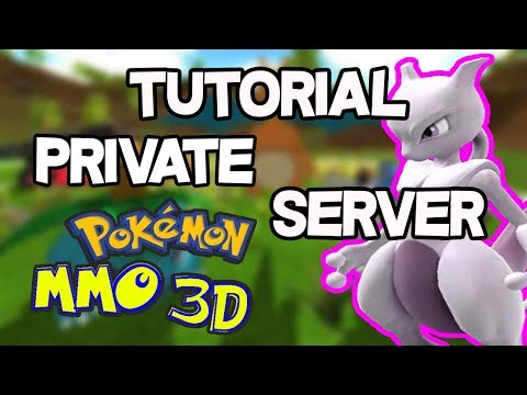 Como CREAR tu PRIVATE SERVER en POKEMON MMO 3D!! TUTORIAL Pokemon 3D INDIE PC!!