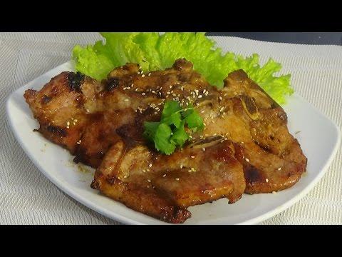 Vietnamese Fried- pan Lemongrass Pork Chops