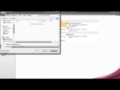 How to Convert MS Access 2000 to 2010