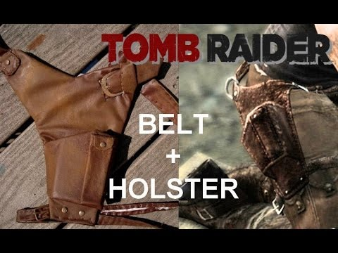 How to weather your Tomb Raider 2013 belt