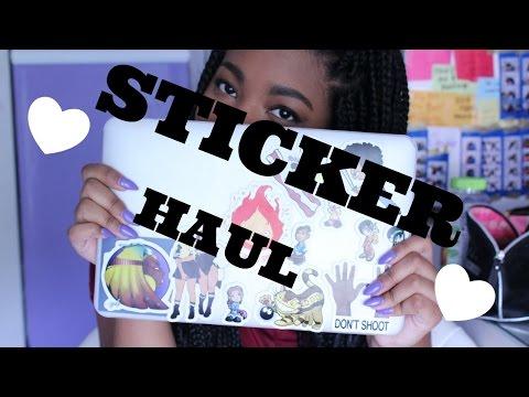 Sticker Haul   Queen Mia