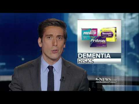 Heartburn News - Prilosec, Nexium causes dementia