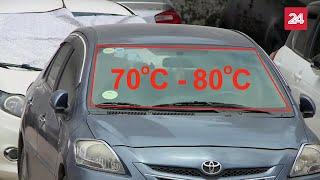 Nội thất trong ô tô khi bị phơi nắng sẽ tạo ra chất gây ung thư | VTV24