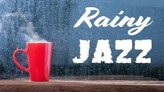 🔴 Relaxing Rainy Jazz - Lounge Jazz Radio - Music For Work & Study - Live Stream 24/7