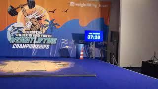 European Under 15 And Youth Weightlifting Championships 2019 Eilat 2019 Men YO 73B