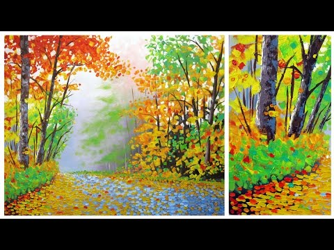 Art Lesson: How to Create a Painterly Landscape with the Oil Colour Intro Set