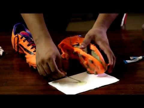 How to Repair Football Shoes
