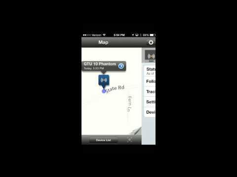Garmin GTU-10 GPS Tracker APP Demo