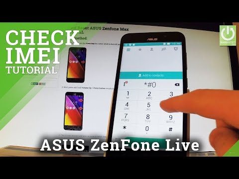 IMEI Number in ASUS Zenfone Max - Check IMEI / IMEI Info