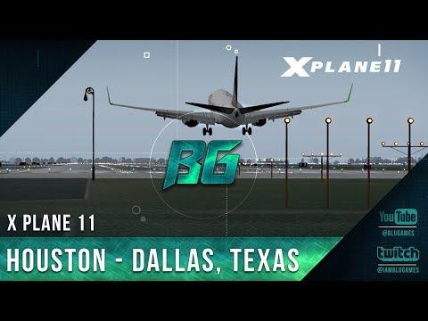 X Plane | Houston - Dallas, Texas (Vatsim)