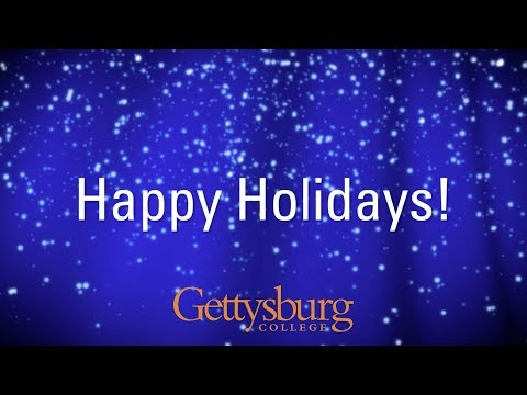 Happy Holidays from Gettysburg College
