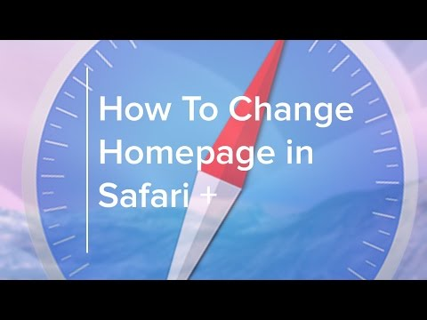 How to Change your Home Page in Safari and More +