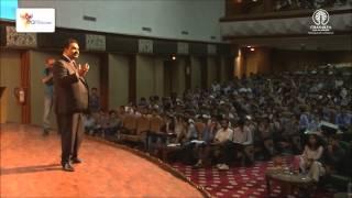 Chanakya IAS Academy organized Art of Success Seminar at University of Kashmir by AK Mishra